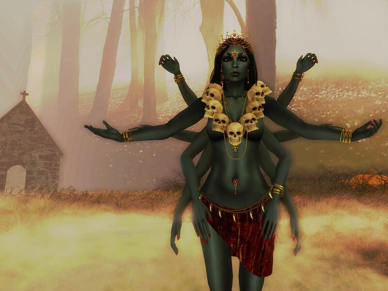 Kālī o Māhākālī, la dèa oscura