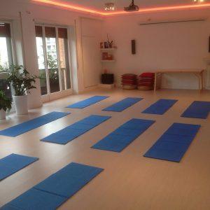 sala yoga centro Armonia In Roma Trastevere